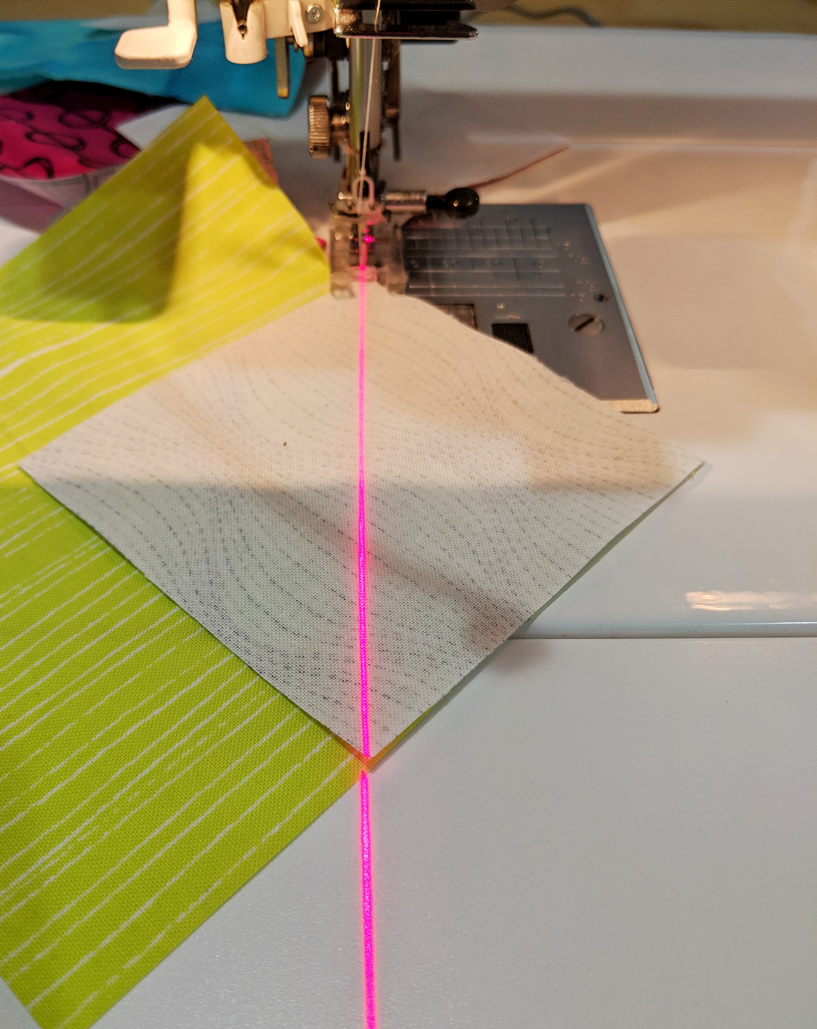 This sewing machine light made my life so much easier! #sewing #quiltingtools #quilting